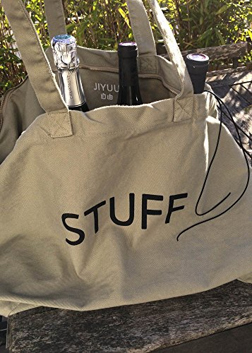 MAISON JIYUU GRAND CABAS TOTE BAG CANVAS DIFFERENT COLORS GREY