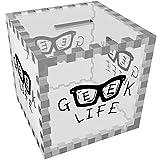 Azeeda 'Geek Life' Tirelire Transparente (MB00043821)