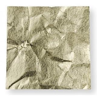 A S Handover übergabe: 18ct Gold Leaf lose: 80 x 80 mm: grün 13g
