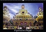Mystisches Nepal - Am Fuße des Himalaya (Wandkalender 2019 DIN A2 quer): Landschaft, Kultur und Tempel (Monatskalender, 14 Seiten ) (CALVENDO Orte)