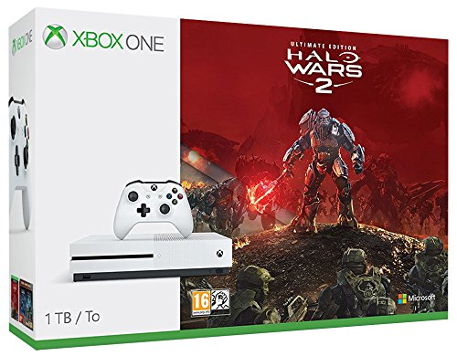 Xbox One S 1TB Konsolen-Bundle inkl. Halo Wars 2:Ultimate Edition (Halo-xbox-360-spiele)