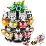 360 Degree Revolving Kitchen Storage,Masala Box,Spice Box,Spice Rack,Spice Container,Spice Jar Stylish Condiment Set Of 16