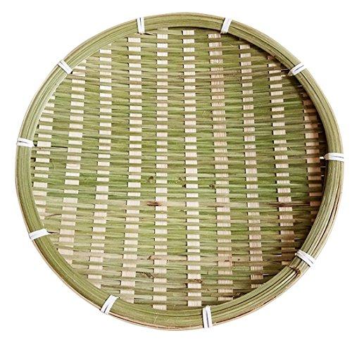 Xigeapg Bambus ovale Obstteller handgemachte Ablage Fach Hand gestrickte Brotkorb Essen Obstkorb Hotel Restaurant Tray -