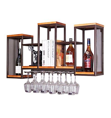 24 bouteilles Casier à vin Étagère Porte Bouteille Naturel Grand rustique en bois Stand