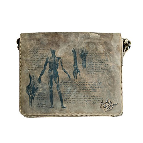 Jack's Inn 54 Tasche - Kollektion Jack The Ripper Afterbrain Business Messenger Braun