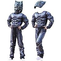 black panther costume bambino  : Black Panther - Bambini / Costumi: Giochi e giocattoli