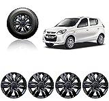 #10: Autopearl Car Wheel Cover Caps 12 Inches Press Type Fitting For - Maruti Suzuki Alto 800 2012 (Black)