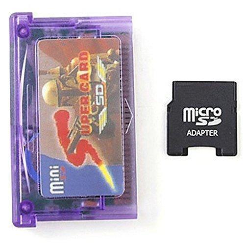 0cc73e37601 Mini Super Card   SD Flash Card Adattatore per GBA SP GBM IDS NDS NDSL(