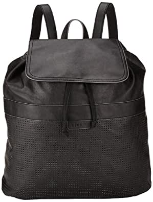 ESPRIT Womens Modischer Damenrucksack Backpack Handbags Black Schwarz (BLACK 001) Size: 35x38x13 cm (B x H x T)