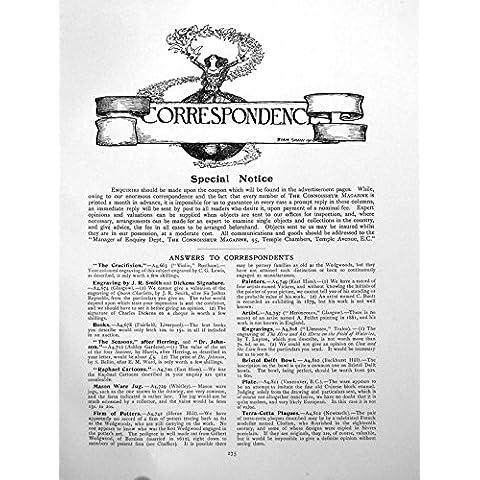 Imprima la Página 1911 275Q131 de Señora Flock Birds Genealogy 1 de la Correspondencia