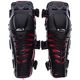 Ginocchiere per Moto,Flessibile Traspirante High-Impact Pads per Proteggere Ginocchi e corpi d'adulti per Moto Motocross