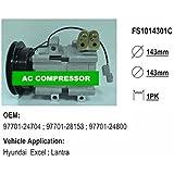 Gowe AC Compresor Para FS10 Hyundai Excel; Lantra coche AC Compresor