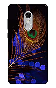 Ally Printed 3D Back cover for Redmi Note 4