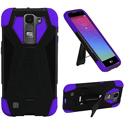 HRWireless Handy Case für LG K7-Schwarz/Violett