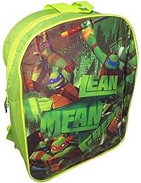 Preisvergleich für Teenage Mutant Ninja Turtles Kinder-Rucksack - Lean, Mittelwert, Grün