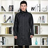 Waterproof clothing Capa Impermeable Impermeable de la Capa Larga de los Hombres del...