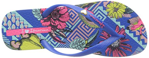 Ipanema - I Love Tribal Fem, Infradito Donna Bleu (Blue/Green)