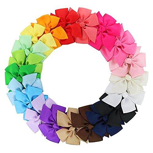 Nicedeal - Cinta grogrén 20 colores pelo