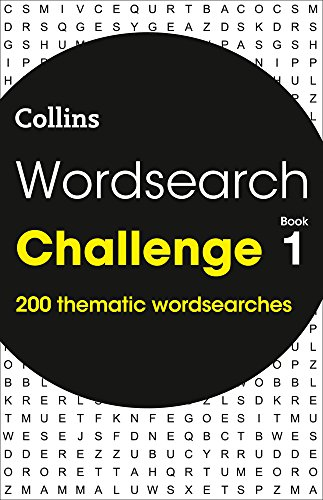 Wordsearch Challenge book 1: 200 themed wordsearch puzzles por Collins Puzzles