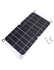 Cargador Solar Portátil con Panel Solar de Alta Eficiencia para Teléfonos Móviles Camping Viajes