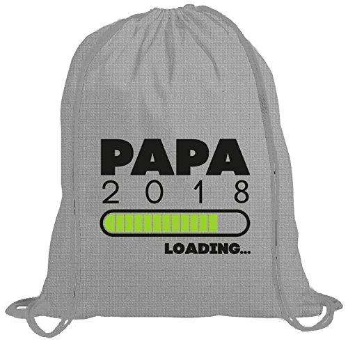 Geschenkidee Vatertag Bio Baumwoll Turnbeutel Rucksack Stanley Stella Gym Bag Papa 2018 Loading... Heather Grey