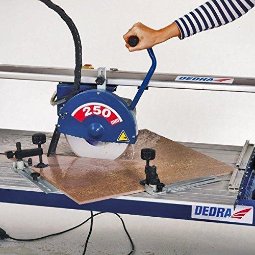 Dedra Nass Fliesenschneider | 930mm | 1020mm | Fliesenschneidemaschine | Steintrennmaschine | Profi (1020mm)