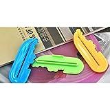 HuaYang Nouveau Créatif Squeezer Distributeur de Dentifrice en plastique 3Pcs(Random Color)