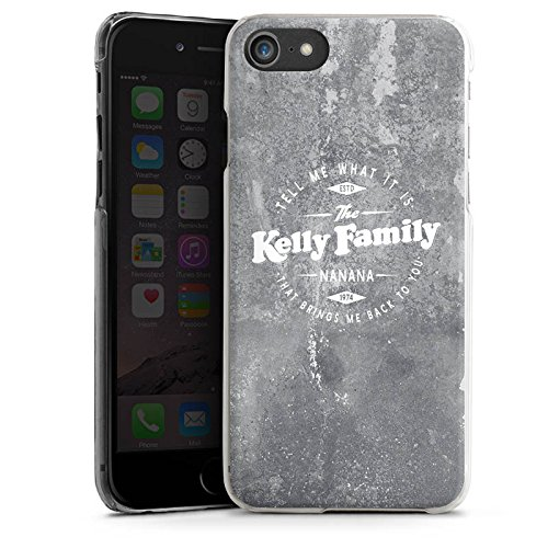 Apple iPhone 8 Hülle Premium Case Cover The Kelly Family Merchandise Nanana Hard Case transparent