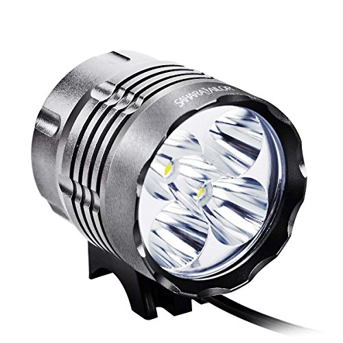 Sahara Sailor 5600 Lumens Bike Light T6 Cree LEDs Bicycle Cycling Lights Headlight Lamp W Rechargeable 4400 MAH Battery