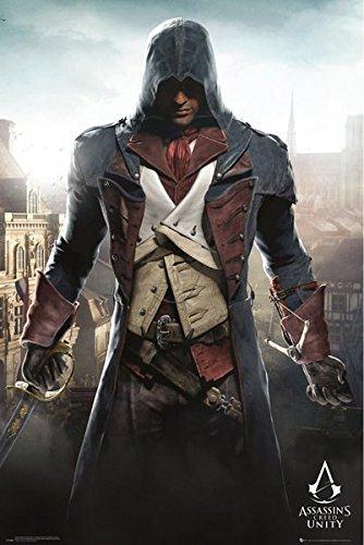 GB Eye Ltd - Maxi poster con immagine di Assassins Creed Unity Cityscape