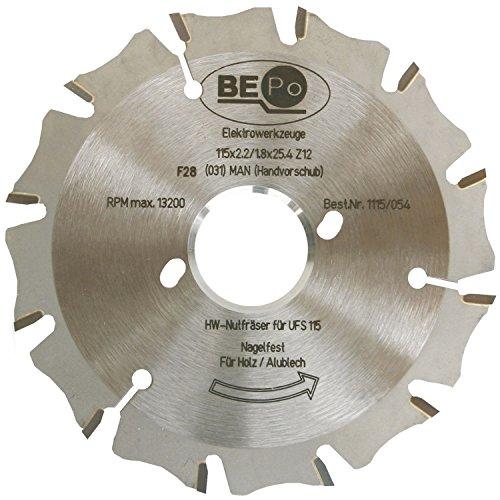 Preisvergleich Produktbild BEPO 1115/054 Sägeblatt, HW zu Fugenschneider UFS115N für Holz/Nagelfest