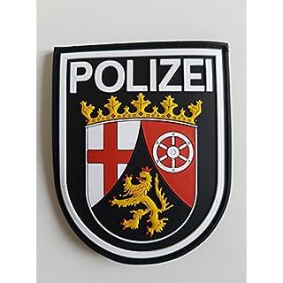 ATG Ärmelabzeichen Police Rhineland-Palatinate 3D Rubber Patch (Colour)