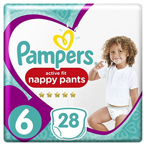 Pampers Premium Active Fit Pants Taille 6 15+ kg - 28 Couches-Culottes