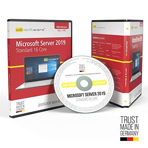 51wfLL2HYzL - Microsoft® Server 2019 Standard 16Core DVD mit original Lizenz. Papiere & Lizenzunterlagen von S2-Software GmbH & Co. KG
