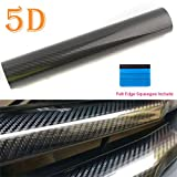 Carbon Fibre Vinyl Wrap 5D High Gloss Bubble - Best Reviews Guide