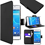ebestStar - Sony Xperia M2 Case D2302 D2303 Wallet Case PU