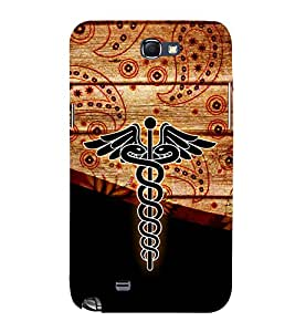 Doctor is my Profession 3D Hard Polycarbonate Designer Back Case Cover for Samsung Galaxy Note i9220 :: Samsung Galaxy Note 1 N7000