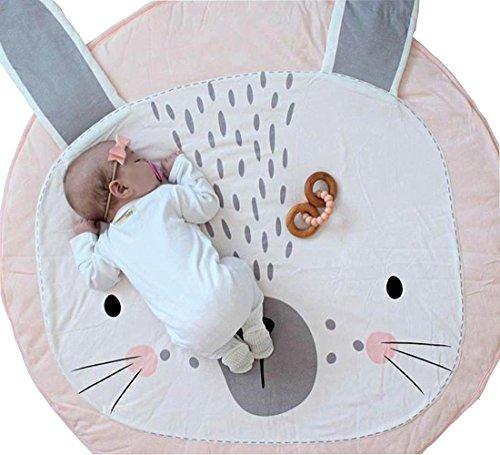 Fyore 100% natural tejido alfombrilla de bebé para jugar Crawling dor