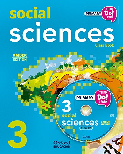 Pack Amber Social Science Primary 3 Student's Book (+ CD) (Think Do Learn)
