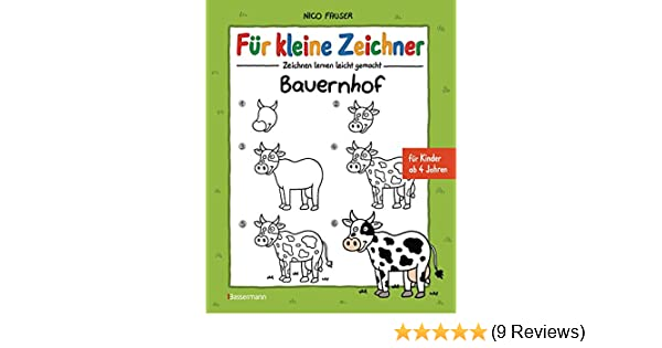 Für Kleine Zeichner Bauernhof Zeichnen Lernen Leicht Gemacht Für