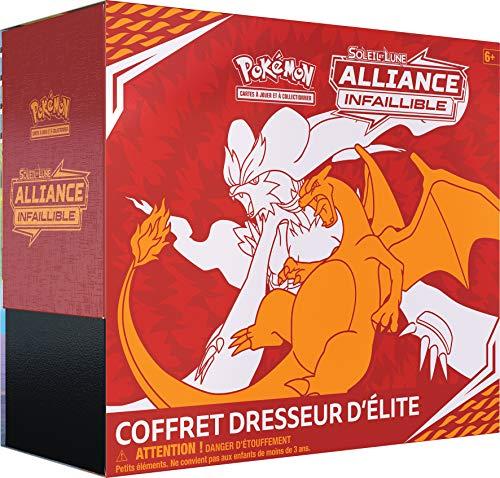 Pokemon- Coffret Dresseur d'Elite-Soleil et Lune Alliance Infaillible (SL10), POKELISL10