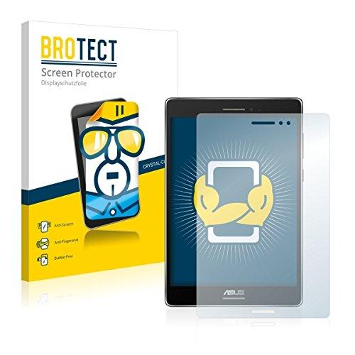 2X BROTECT HD Clear Bildschirmschutz Schutzfolie für ASUS ZenPad S 8.0 (kristallklar, extrem Kratzfest, schmutzabweisend)