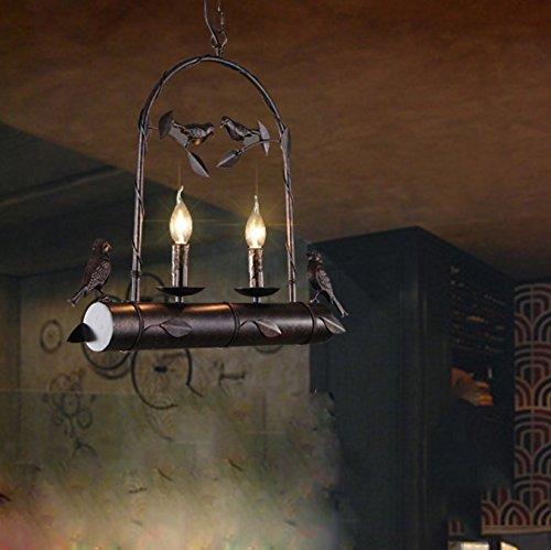 eclairage-personnalite-retro-restaurant-fer-lustre