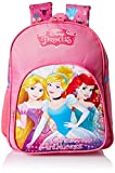 Disney Princess Beauties Pink School Bag for Children of Age Group 18 to 36 months | Size 12 inch