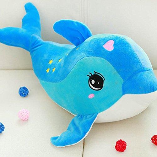 Balai 12 Zoll Soft Dolphin Kissen, Kinder Baby Stofftier Spielzeug