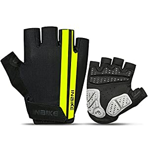 Inbike Guantes Ciclismo, Guantes Bici Transpirable Reflectante Mtb