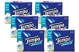 Tempo Taschentücher Protect, 4-lagige Tempos mit antibakteriellem Wirkstoff, 6er Pack (6 x 30 Päckchen à 9 Tücher)