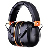 Proteccion auditiva,Tacklife HNRE1 Orejeras Protectores SNR 34dB,Plegables Defensores del Oído con Tecnología de Cancelación de ruido para Tiro,Estudio,Construcción