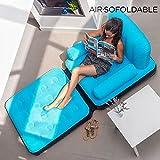 Air.sofoldable Handtuchhalter–Sillón hinchable
