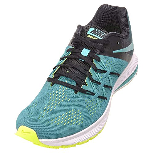 Nike Men Zoom Winflo 3 Scarpe Da Corsa Rio Teal / Jade-black-volt